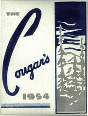1954 Edition, Curlew High School - Cougar Tracks Yearbook (Curlew, WA)