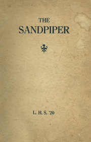 Lind High School - Progress Yearbook (Lind, WA) online yearbook collection, 1920 Edition, Page 1