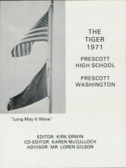 Page 5, 1971 Edition, Prescott High School - Tiger Yearbook (Prescott, WA) online yearbook collection