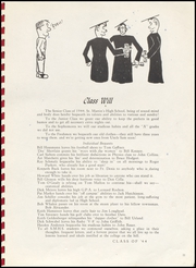 Page 15, 1944 Edition, St Martins High School - Samahi Yearbook (Lacey, WA) online yearbook collection