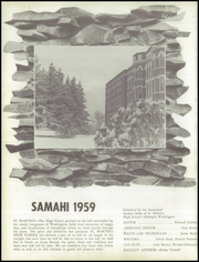 Page 8, 1959 Edition, St Martins High School - Samahi Yearbook (Lacey, WA) online yearbook collection
