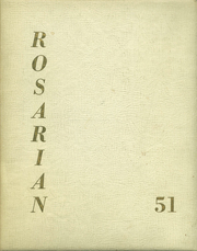 1951 Edition, Holy Rosary High School - Rosarian Yearbook (Seattle, WA)