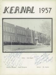 Page 5, 1957 Edition, Palouse High School - Kernel Yearbook (Palouse, WA) online yearbook collection