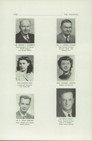 Page 7, 1952 Edition, Harrington High School - Panther Yearbook (Harrington, WA) online yearbook collection
