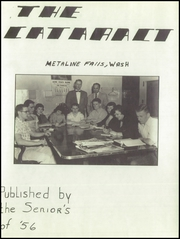 Page 7, 1956 Edition, Metaline Falls High School - Cataract Yearbook (Metaline, WA) online yearbook collection