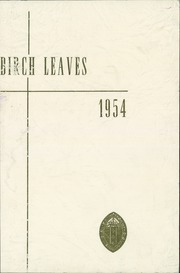 Page 1, 1954 Edition, St Paul School - Birch Leaves Yearbook (Walla Walla, WA) online yearbook collection