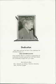 Page 7, 1954 Edition, St Paul School - Birch Leaves Yearbook (Walla Walla, WA) online yearbook collection