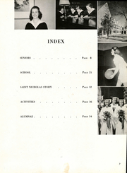 Page 11, 1952 Edition, St Nicholas High School - Cantoria Yearbook (Seattle, WA) online yearbook collection