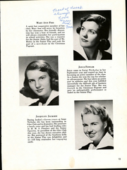 Page 17, 1952 Edition, St Nicholas High School - Cantoria Yearbook (Seattle, WA) online yearbook collection