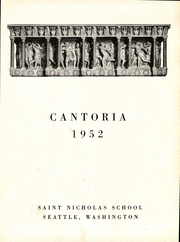 Page 5, 1952 Edition, St Nicholas High School - Cantoria Yearbook (Seattle, WA) online yearbook collection