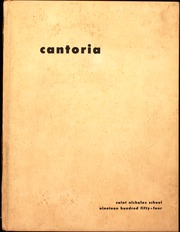 1954 Edition, St Nicholas High School - Cantoria Yearbook (Seattle, WA)