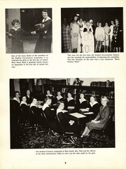 Page 12, 1955 Edition, St Nicholas High School - Cantoria Yearbook (Seattle, WA) online yearbook collection