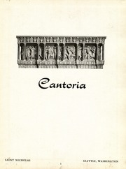 Page 5, 1955 Edition, St Nicholas High School - Cantoria Yearbook (Seattle, WA) online yearbook collection