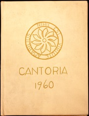 1960 Edition, St Nicholas High School - Cantoria Yearbook (Seattle, WA)