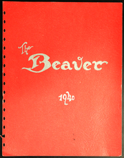 1940 Edition, Fairfield High School - Beaver Yearbook (Fairfield, WA)