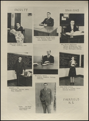 Page 9, 1945 Edition, Fairfield High School - Beaver Yearbook (Fairfield, WA) online yearbook collection