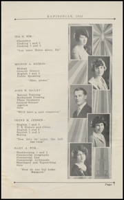 Page 11, 1928 Edition, Kapowsin High School - Kapisonian Yearbook (Kapowsin, WA) online yearbook collection