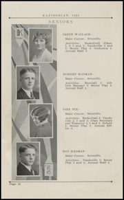 Page 16, 1928 Edition, Kapowsin High School - Kapisonian Yearbook (Kapowsin, WA) online yearbook collection