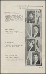 Page 17, 1928 Edition, Kapowsin High School - Kapisonian Yearbook (Kapowsin, WA) online yearbook collection