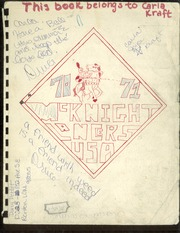 1971 Edition, McKnight Middle School - Lancer Yearbook (Renton, WA)