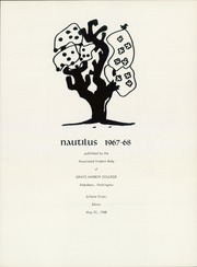 Page 5, 1968 Edition, Grays Harbor College - Nautilus Yearbook (Aberdeen, WA) online yearbook collection