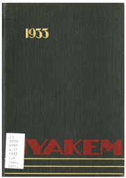 Central Washington University - Hyakem / Kooltuo Yearbook (Ellensburg, WA) online yearbook collection, 1933 Edition, Page 1