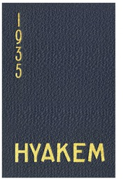 Page 1, 1935 Edition, Central Washington University - Hyakem / Kooltuo Yearbook (Ellensburg, WA) online yearbook collection
