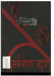 Central Washington University - Hyakem / Kooltuo Yearbook (Ellensburg, WA) online yearbook collection, 1937 Edition, Page 1