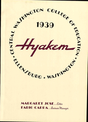 Page 11, 1939 Edition, Central Washington University - Hyakem / Kooltuo Yearbook (Ellensburg, WA) online yearbook collection