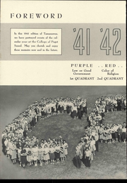 Page 8, 1941 Edition, University of Puget Sound - Tamanawas Yearbook (Tacoma, WA) online yearbook collection