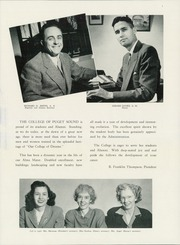 Page 11, 1947 Edition, University of Puget Sound - Tamanawas Yearbook (Tacoma, WA) online yearbook collection