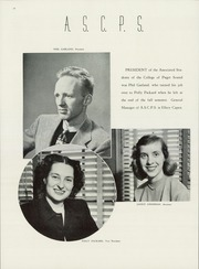 Page 16, 1947 Edition, University of Puget Sound - Tamanawas Yearbook (Tacoma, WA) online yearbook collection