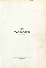 Page 13, 1911 Edition, Whitman College - Waiilatpu Yearbook (Walla Walla, WA) online yearbook collection