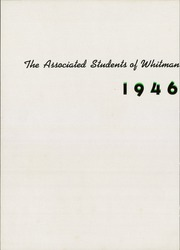 Page 6, 1946 Edition, Whitman College - Waiilatpu Yearbook (Walla Walla, WA) online yearbook collection