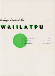 Page 7, 1946 Edition, Whitman College - Waiilatpu Yearbook (Walla Walla, WA) online yearbook collection