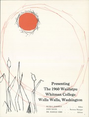 Page 5, 1960 Edition, Whitman College - Waiilatpu Yearbook (Walla Walla, WA) online yearbook collection