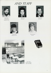 Page 9, 1986 Edition, Buena Vista Seventh Day Adventist School - Vista Yearbook (Auburn, WA) online yearbook collection