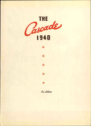 Page 7, 1940 Edition, Seattle Pacific University - Tawashi Yearbook (Seattle, WA) online yearbook collection