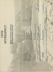 Page 4, 1970 Edition, Washington State University College of Veterinary Medicine - Vetrospect Yearbook (Pullman, WA) online yearbook collection