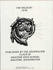 Page 7, 1970 Edition, Anatone High School - Wildcat Yearbook (Anatone, WA) online yearbook collection