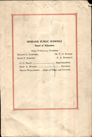 Page 9, 1930 Edition, Havermale Junior High School - Papoose Yearbook (Spokane, WA) online yearbook collection
