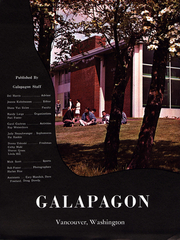 Page 6, 1961 Edition, Clark College - Galapagon Yearbook (Vancouver, WA) online yearbook collection
