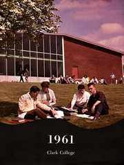 Page 7, 1961 Edition, Clark College - Galapagon Yearbook (Vancouver, WA) online yearbook collection