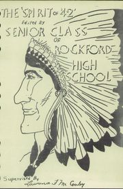 Page 5, 1942 Edition, Rockford High School - Indian Rocket Yearbook (Rockford, WA) online yearbook collection
