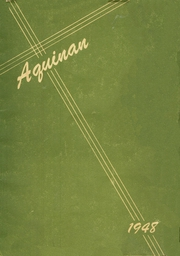 Page 1, 1948 Edition, St Patrick High School - Aquinan Yearbook (Walla Walla, WA) online yearbook collection