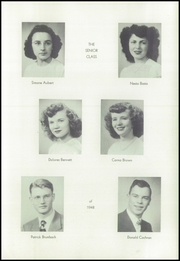 Page 15, 1948 Edition, St Patrick High School - Aquinan Yearbook (Walla Walla, WA) online yearbook collection