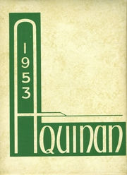 1953 Edition, St Patrick High School - Aquinan Yearbook (Walla Walla, WA)