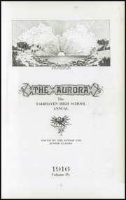 Page 5, 1916 Edition, Fairhaven High School - Aurora Yearbook (Bellingham, WA) online yearbook collection