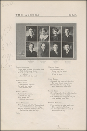 Page 16, 1925 Edition, Fairhaven High School - Aurora Yearbook (Bellingham, WA) online yearbook collection