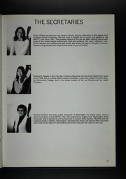 Page 17, 1986 Edition, University of Washington Naval ROTC - Binnacle Yearbook (Seattle, WA) online yearbook collection